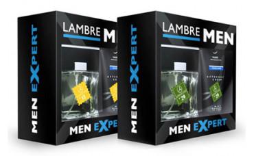 Подарочные мужские парфюмированные наборы Men Expert Lambre