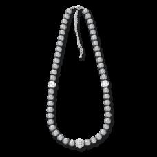 Ожерелье из серого жемчуга 46 см