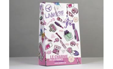 Бумажные упаковочные пакеты Ламбре цветные