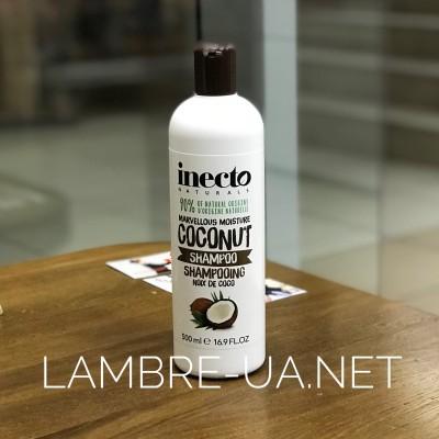Питательный шампунь для волос с маслом кокоса Inecto Naturals Coconut Shampoo