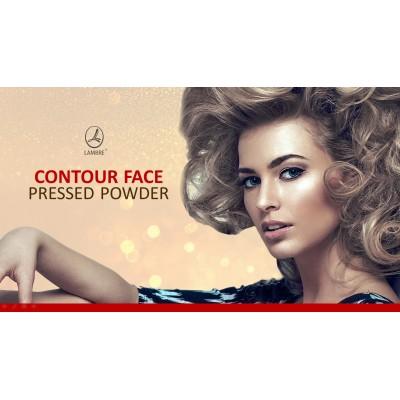 Прессованная пудра для контурной пластики лица Contour Face Pressed Powder Lambre