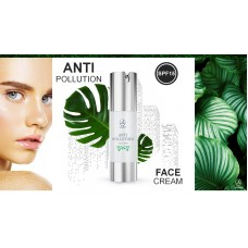Защитный крем ANTI-Pollution face cream Lambre SPF 15