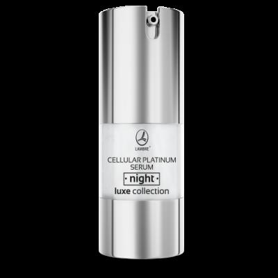 Ночная сыворотка Luxe Collection Cellular Platinum serum night Lambre