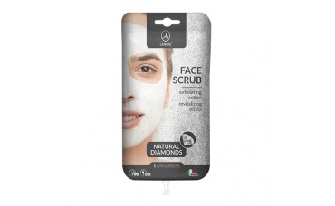 Скраб для лица с алмазами lambre Face Scrub Diamonds саше