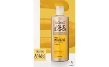 Кондиционер для светлых волос Liquid Blonde Gloss Intensifying Conditioner Lambre