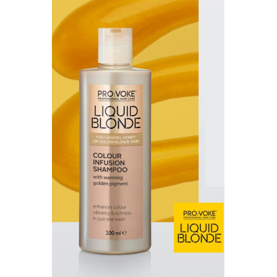 Шампунь для светлых волос Liquid Blonde Gloss Intensifying Shampoo Lambre
